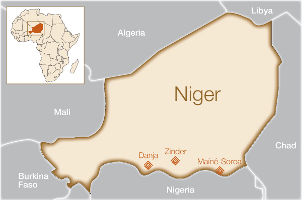 Fistula Foundation: Niger - Map