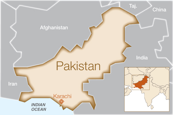 Fistula Foundation: Pakistan - Map