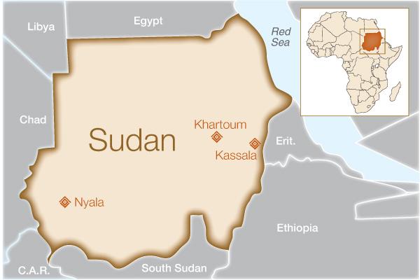 MAP-sudan