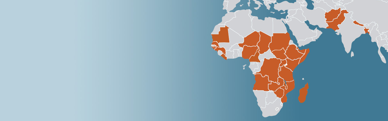 We work in 30 countries to treat women with fistula