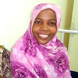Halima, from Somalia (photo credit: WAHA)