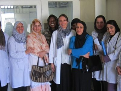 Fistula and pelvic floor disorders team at CURE International Hospital in Kabul.