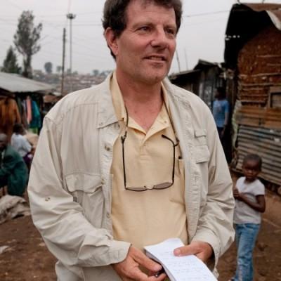 Photo of Nicholas Kristof courtesy of Half the Sky Movement.