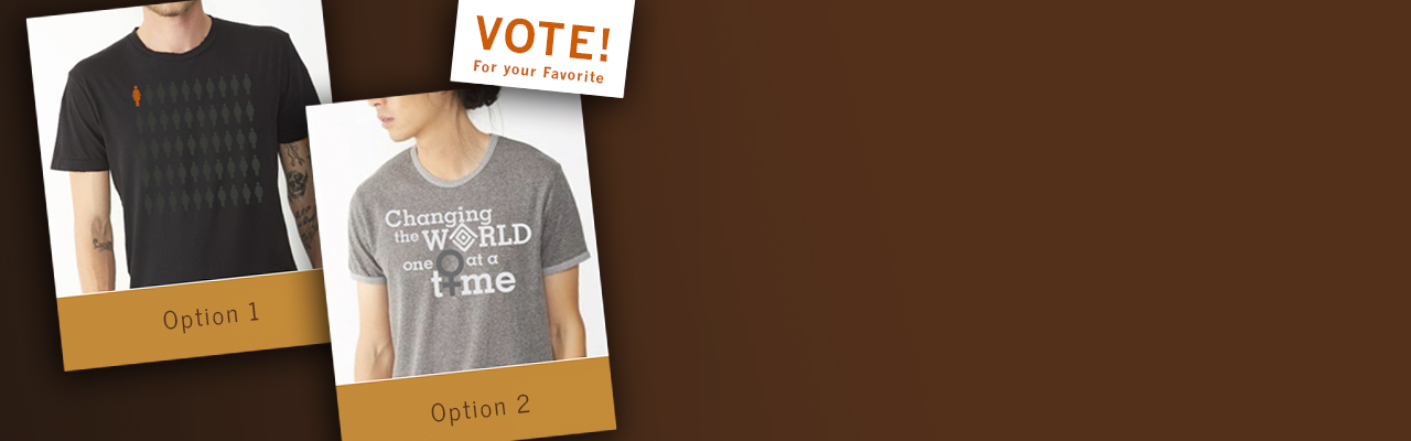 Vote for your favorite t-shirt!
