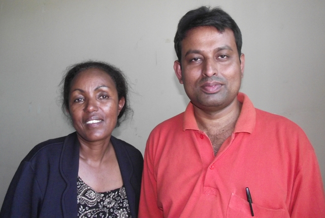 Dr Muleta and Dr Biswas