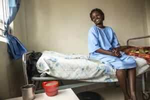 Celina, age 30, delivered a stillborn baby after two days of labor and developed fistula. It was years before she met an outreach worker who referred her for successful treatment.