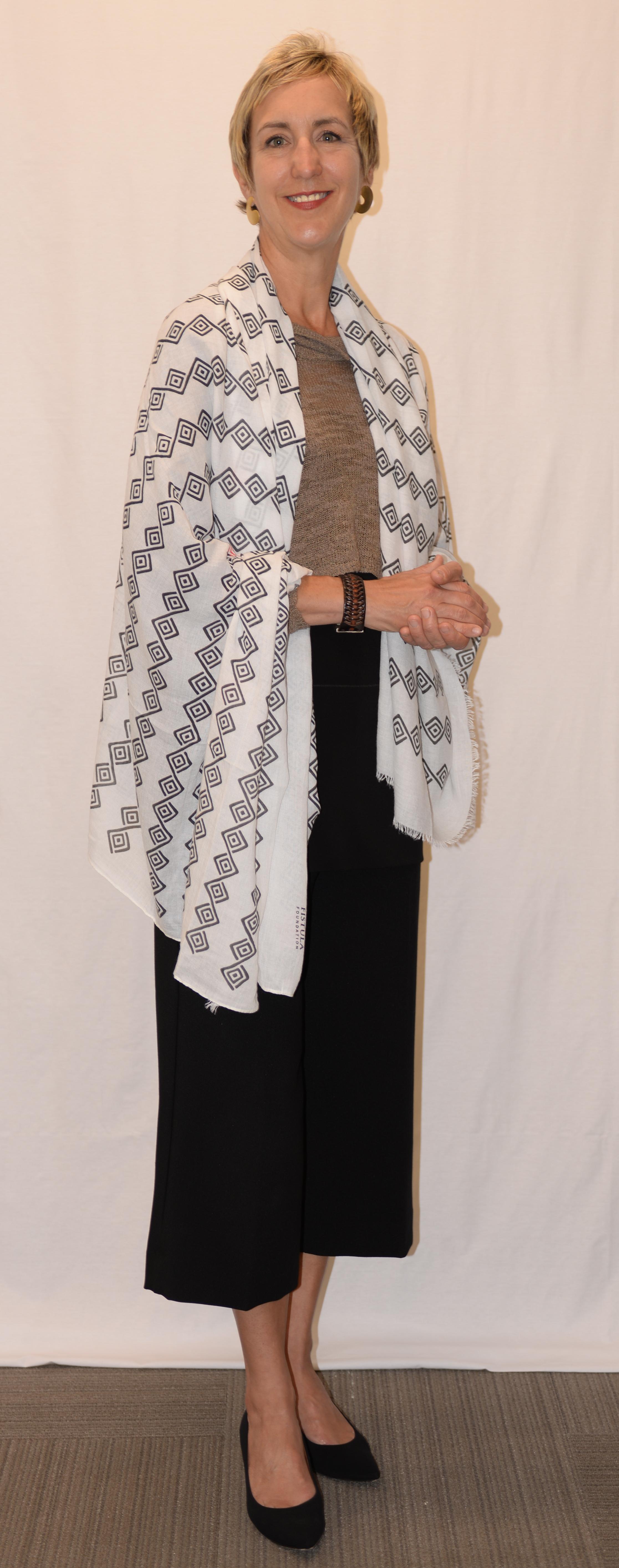 Fistula Foundation Gifts That Heal - Binta Scarf (shawl)