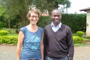 Dr. Joseph Liko (right) with fellow FIGO trainee Dr. Judith Stenkamp