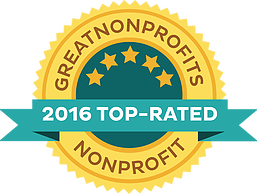 We get five stars on Great Nonprofits!