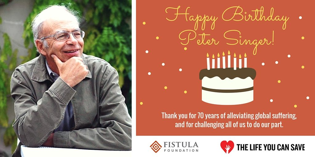 Happy Birthday Peter Singer E-Card 2