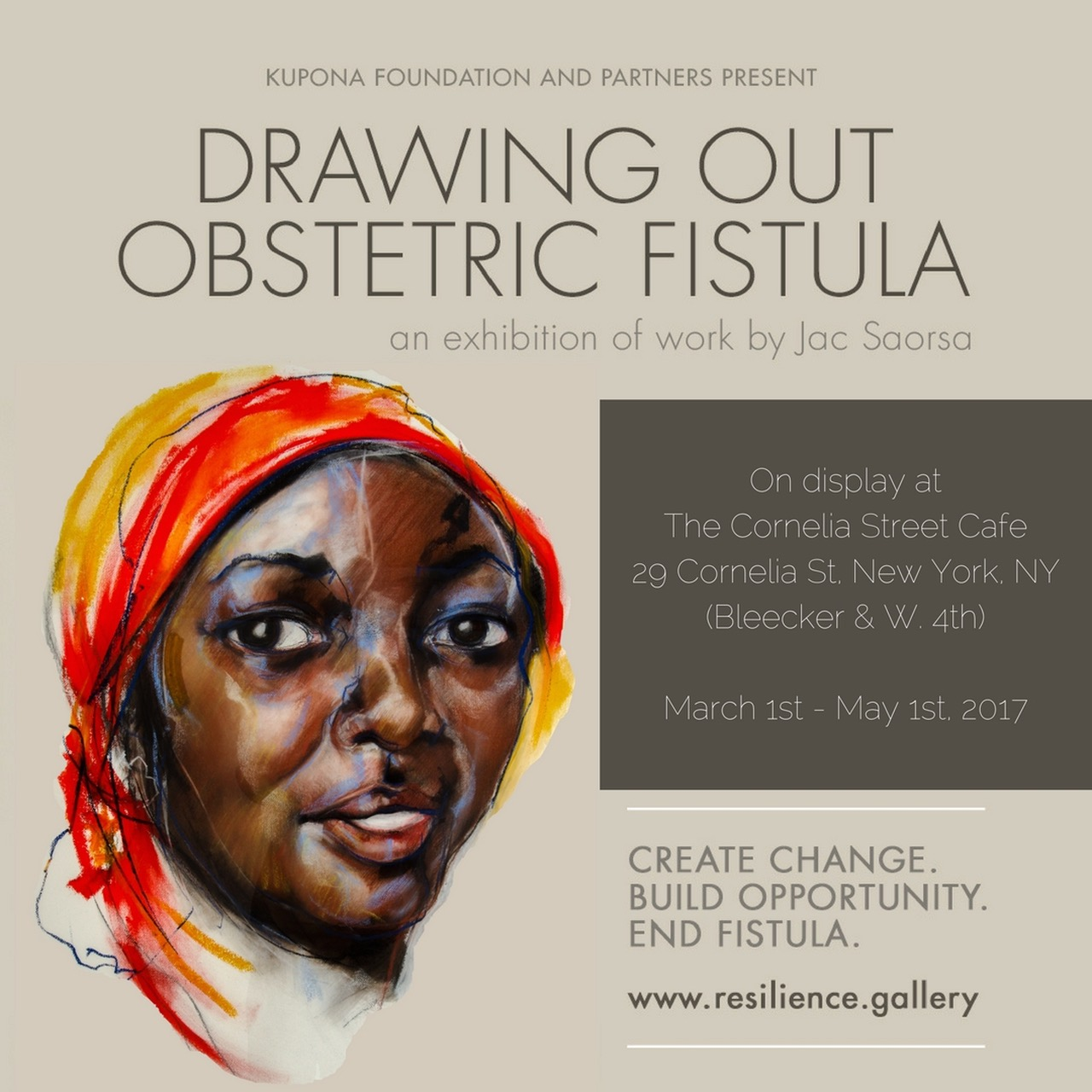 drawing out obstetric fistula