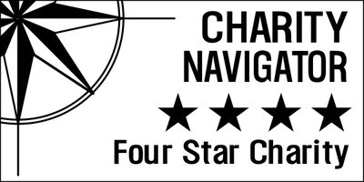 Charity Navigator give us 4 stars