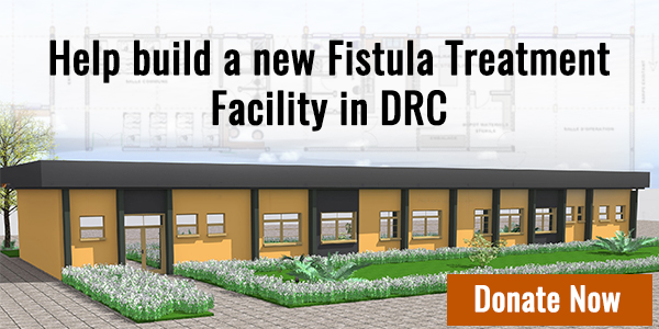 Help build a new fistula treatment facility in DRC